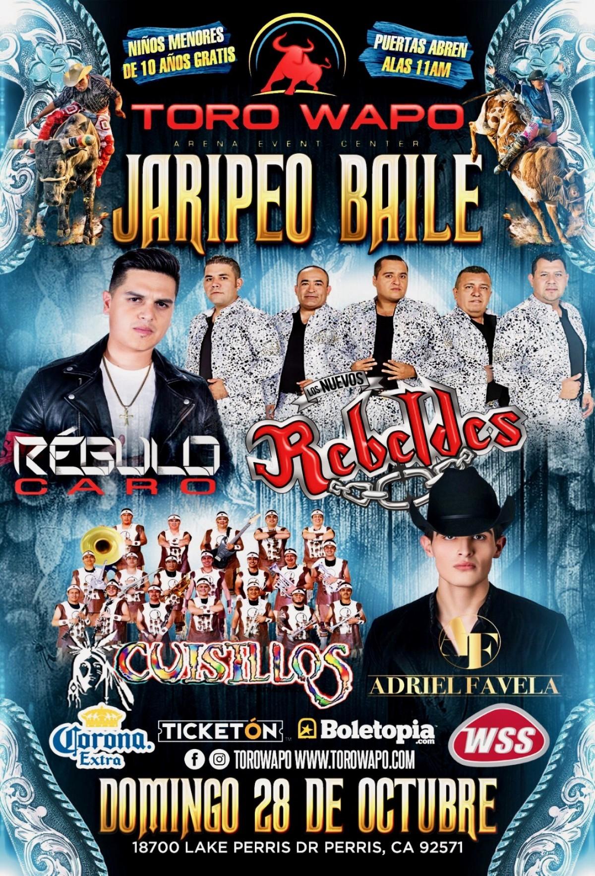 Jaripeo Baile | Toro Wapo